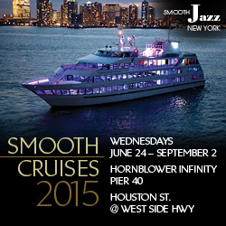 Dave Koz, Boney James, Peter White, Rachelle Ferrell and Gerald Albright are among the acclaimed artists performing in the Smooth Cruise summer jazz series presented by Smooth Jazz New York.
