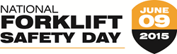 National Forklift Safety Day served as a focal point for forklift manufacturers to highlight the safe use of forklifts, and the importance of operator training and daily equipment checks.