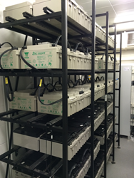 Critical Power Supplies Battery Installation