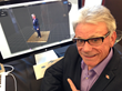 SMPTE Education Vice President Pat Griffis and His Avatar at ETIA 2014