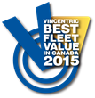 2015 Vincentric Best Fleet Value in Canada Awards