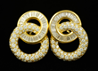 18K Pr. Charles Krypell Diamond Earrings