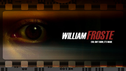 William Froste - horror film directed by Natalie Bible'
