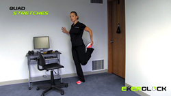 ExerClock Quad Exercise
