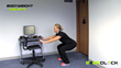 ExerClock squat exercise