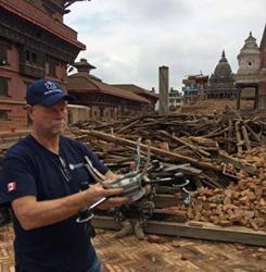 Aeryon UAVs in Nepal earthquake response