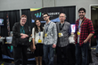 Woodbury students and faculty congregate at the 2014 CTN Expo