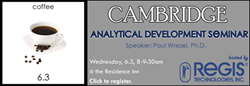 Attend a Technical Seminar on Analytical Method Strategies for Drug Development June 3rd in Cambridge