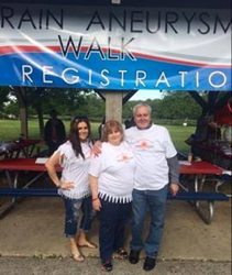 3rd Annual Awareness to Gain Walk for your Brain in Waukesha, WI Benefits Brain Aneurysm Foundation