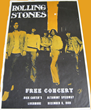 Avid Psychedelic Rock Concert Poster Collector From Vintage Rock Posters Announces Finding a 1969 Rolling Stones Altamont Concert Poster