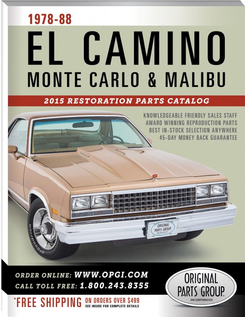 2015 edition 1978 88 el camino monte carlo malibu restoration parts catalog. Black Bedroom Furniture Sets. Home Design Ideas