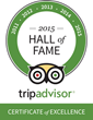 Port d'Hiver Awarded TripAdvisor Certificate of Excellence for Five Consecutive Years - Enters Hall of Fame