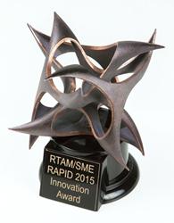 Afinia 3D's RAPID 2015 Exhibitor Innovation Award