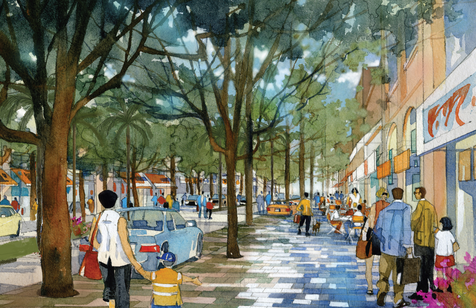 Cooper Robertson Unveils Design Of Coral Gables Miracle Mile Streetscape