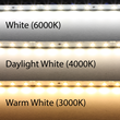 3 Brillant LED Colors To Choose From