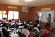 OSU Students conduct classroom exercises at Jose Cecilio del Valle elementary school