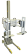 Stainless Steel Roll Handling Equipment With Lifting Clamp Attachment And Retainers