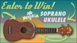 Enter to Win a Melokia Ukulele from Cascio Interstate Music. http://www.interstatemusic.com/Contest/149-Enter-to-Win-a-Melokia-Soprano-Ukulele.aspx