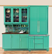 Welcome Summer with the Cabinet Color of Your Choice with Wellborn Cabinet, Inc.'s Custom Color Program