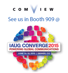 See Comview in booth 909 at IAUG CONVERGE 2015 in Denver