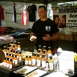 Talking Hot Sauce at Hillcrest Farmers Market
