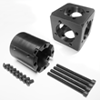 Carbon Erector Main Block and Connector Kit - The Heart of the System