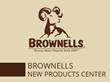 Brownells New Product Center is Serious About Firearms