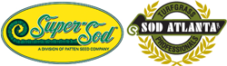 Logos for each sod farm.