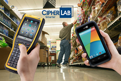 CipherLab Exhibits Its Android Rugged Touch Computer and Industrial Mobile Computer for Food Retail and Wholesale at FMI Connect 2015, Booth# 2056
