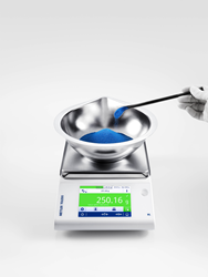 ML-T Precision Balance, Weighing-in guide simplifies dosing to target