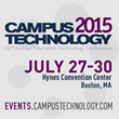 National Higher Education Technology Conference Begins Today in Boston