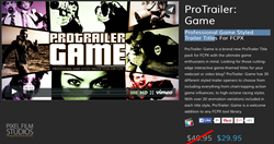 Pixel Film Studios ProTrailer Game Plugin.