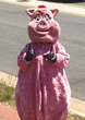"Red Hot & Blue Mascot - ""Big Daddy Blues"""