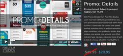 Pixel Film Studios Promo Details Plugin.