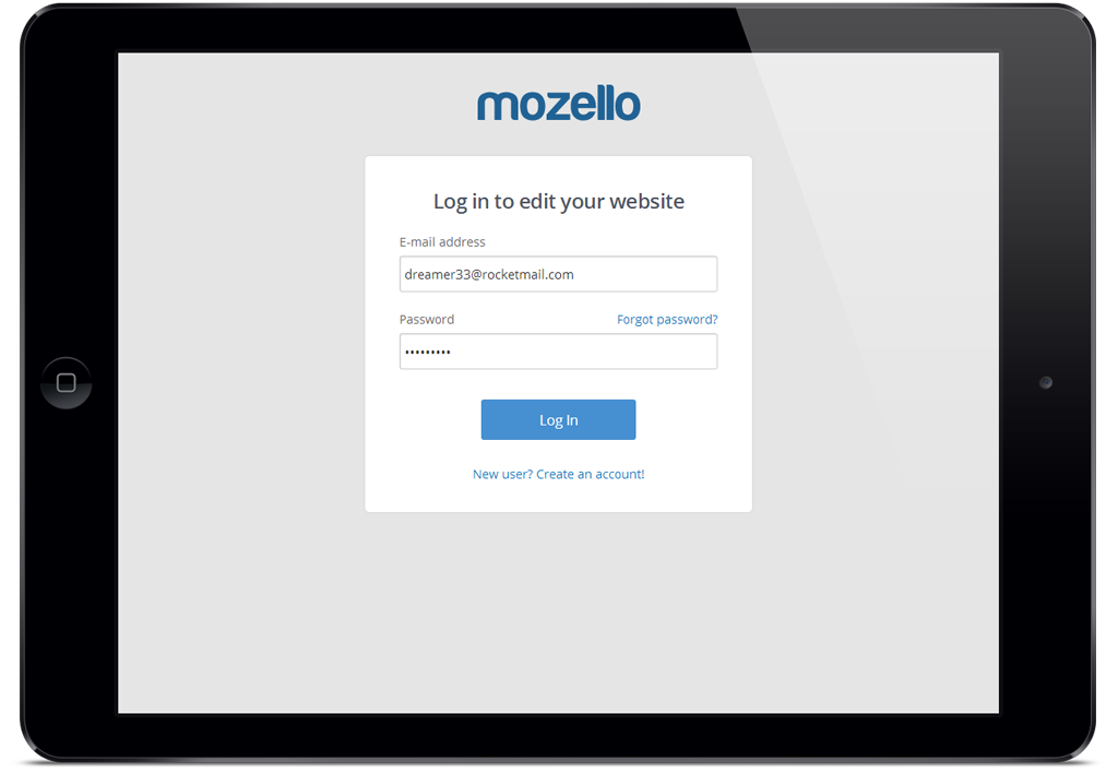 Mozello debuts world s first fully responsive minimalist for Minimalist homepage