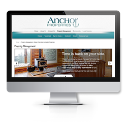 image of Anchor Properties website
