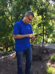 Commercial landscape maintenance company mobile application