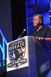 Mike Ditka at Gridiron Greats Hall of Fame Dinner 2014 in Las Vegas