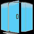 Pivot Neo Angle shower Door
