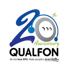 Qualfon 20th Anniversary Logo