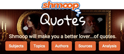 Shmoop Famous Quotes