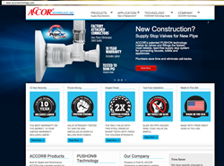 ACCOR supply stop valves