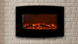 The Yardley Electric Fireplace includes a wall mounting bracket for easy, level installation.