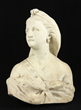19th Century Marble Bust of a Woman