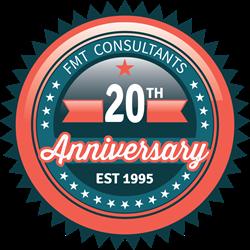FMT Consultants Anniversary Logo