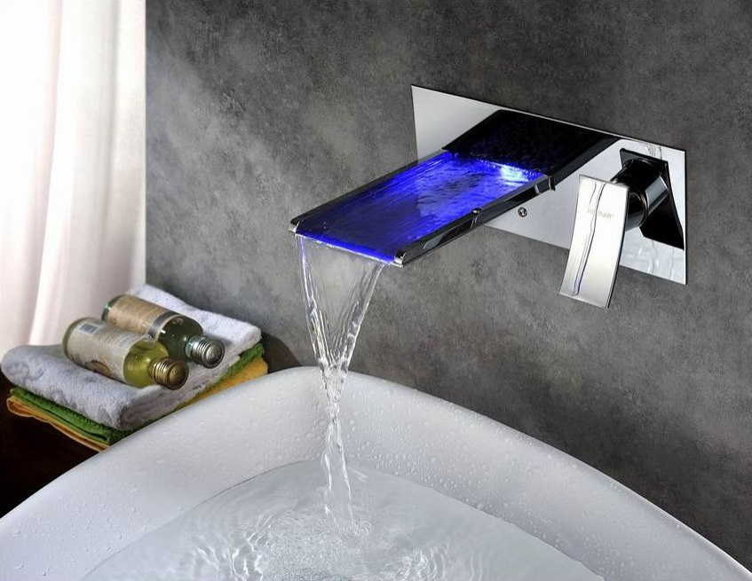 HomeThangs.com Has Introduced a Guide to Modern LED Waterfall Faucets