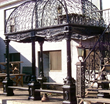 Iron Garden Passage Gazebo CI3-ARTS050Z019 from AFD