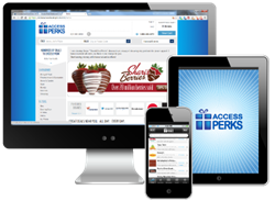 Access Perks offers employee perks online and on mobile devices.