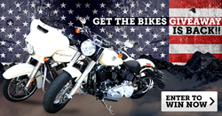 Donation for a chance to Win both bikes + year of gas!