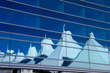 A reflection of DIA's signature mountain design in the new Westin Denver International Airport